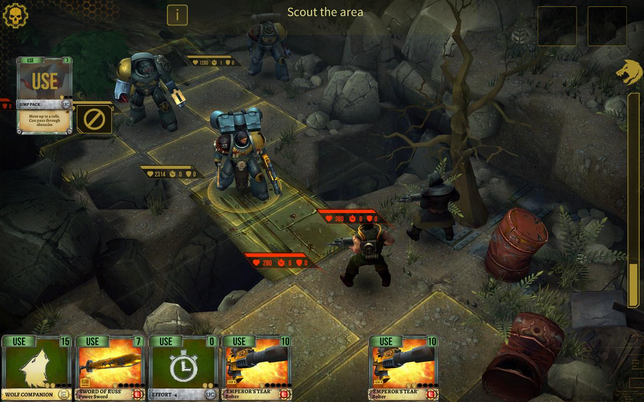 Warhammer 40,000: Space Wolf for Android - APK Download
