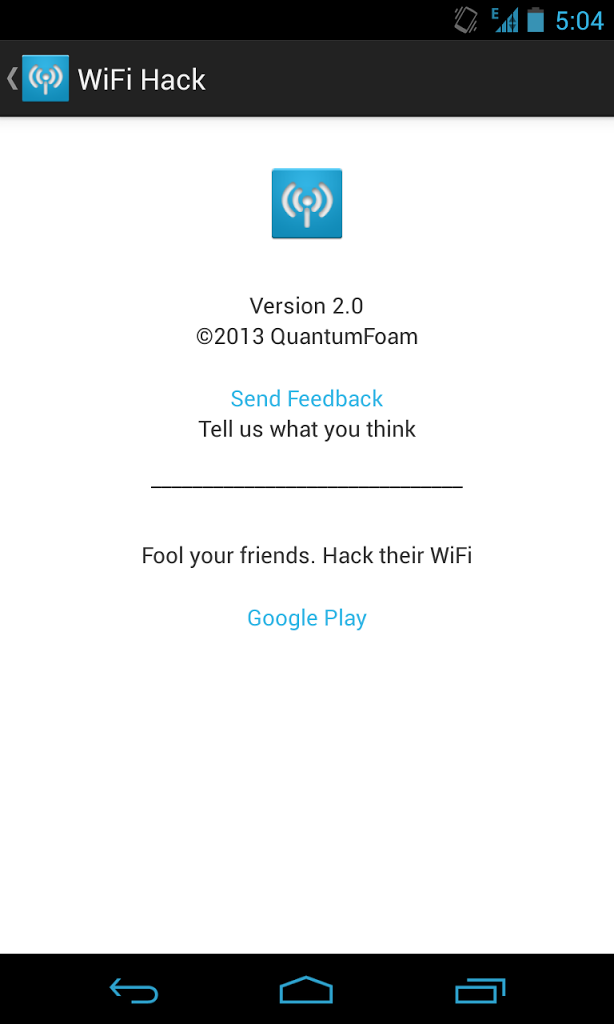 WiFi Hack (Prank) for Android - APK Download