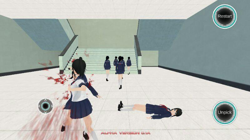yandere simulator free download mobile