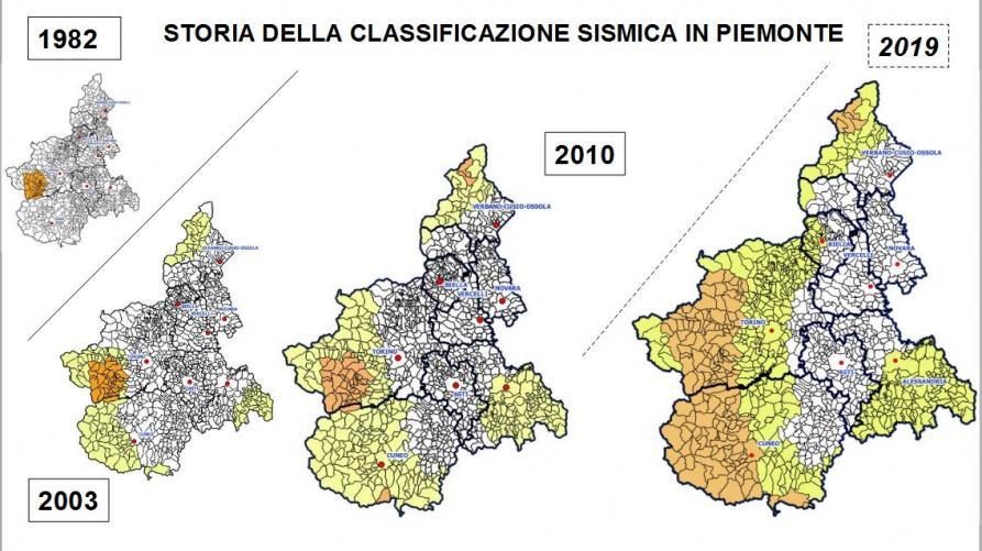 La Cartina Del Piemonte.Zonazione Sismica Aggiornata La Mappa Del Piemonte