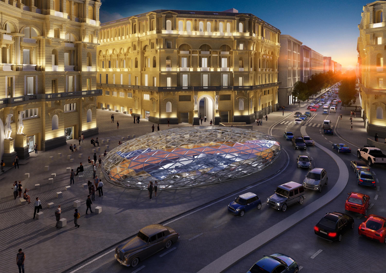 Lavoro Come Architetto Napoli a napoli atterra fuksas con il progetto della stazione duomo