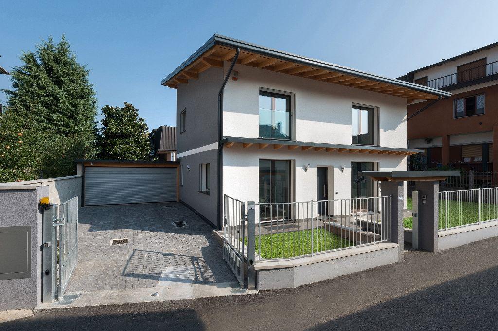 Progettazione Esterni Casa : Casa passiva a bollate le prestazioni monitorate per un anno
