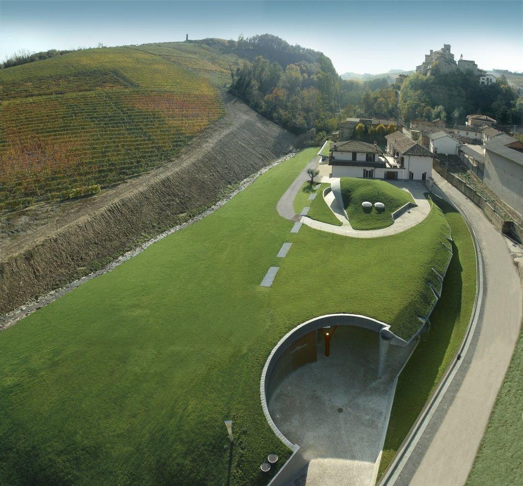 Architettura Del Verde architettura del vino: la cantina ipogea di cascina adelaide