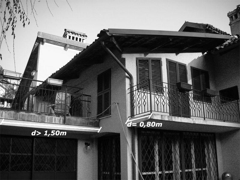 Distanze Tra Edifici L Influenza Di Balconi Terrazze E