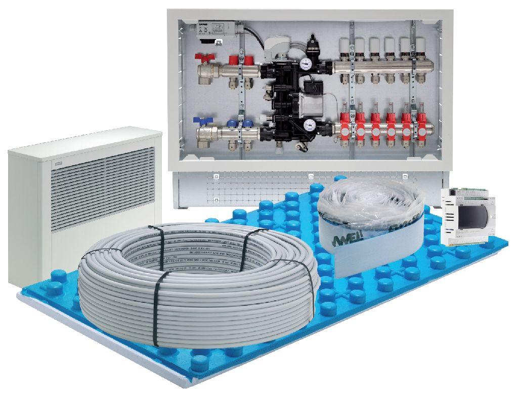 Riscaldamento A Pavimento E Raffreddamento emmeti clima floor: sistemi radianti di raffrescamento a