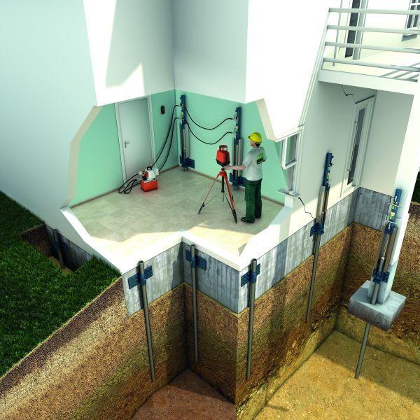 Consolidamento fondazioni: l'intervento su un condominio a ...