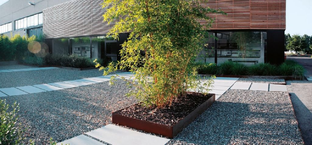Progettare Giardini E Terrazze Le Pavimentazioni In Ghiaia Teknoring