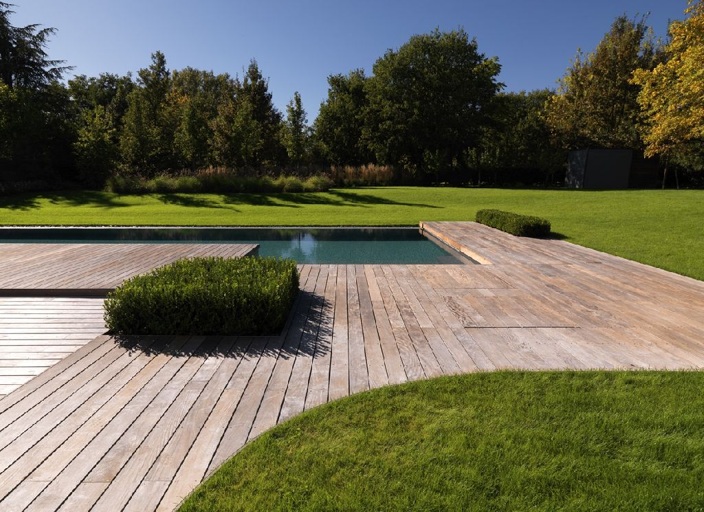 Progettare Giardini E Terrazze Le Pavimentazioni In Legno