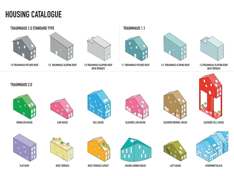 tipologie a catalogo_Courtesy of MVRDV