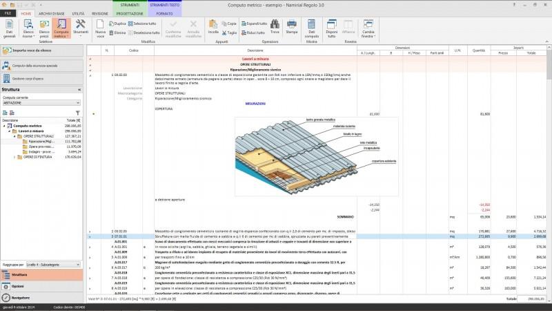 Software Computo Metrico E Contabilità Lavori Regolo Di