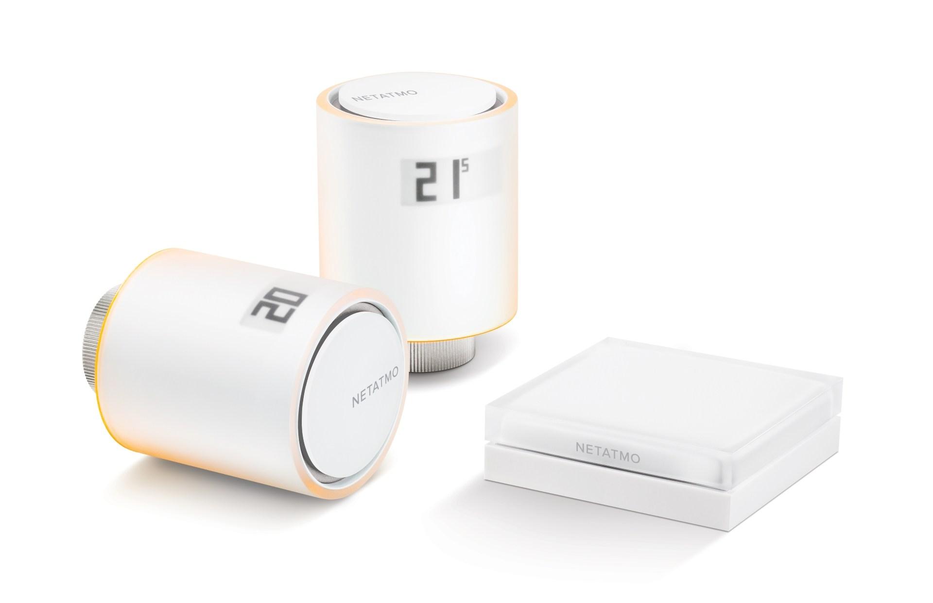 netatmo valvole termostatiche  Le valvole termostatiche intelligenti di Philippe Starck per Netatmo ...