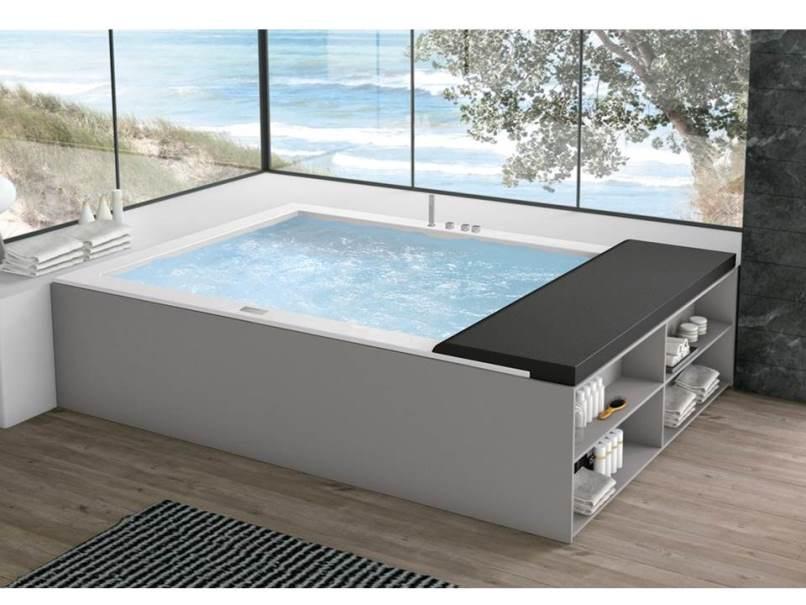 Vasca Da Casa : Una minipiscina in casa con la vasca idromassaggio minerva è