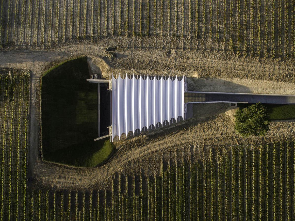 Opere Di Renzo Piano architettura del vino: renzo piano bw per château la coste