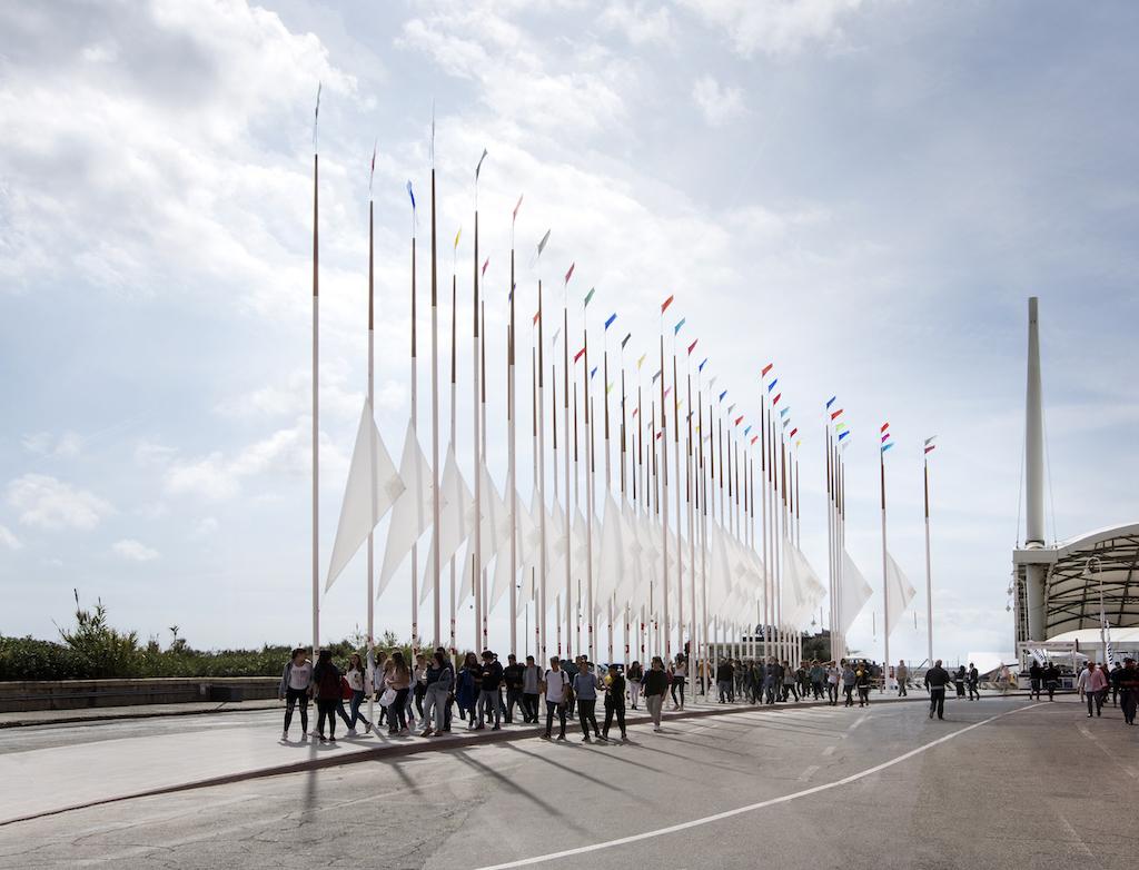 Renzo Piano Nato A il bosco di cedro e acciaio di obr, da un'idea di renzo piano