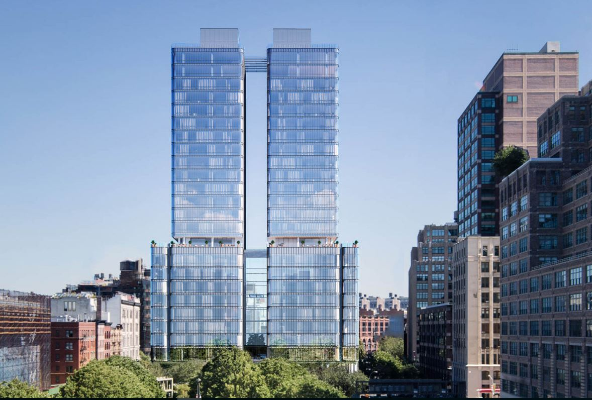 Opere Di Renzo Piano grattacieli: 565 broome soho di renzo piano building workshop