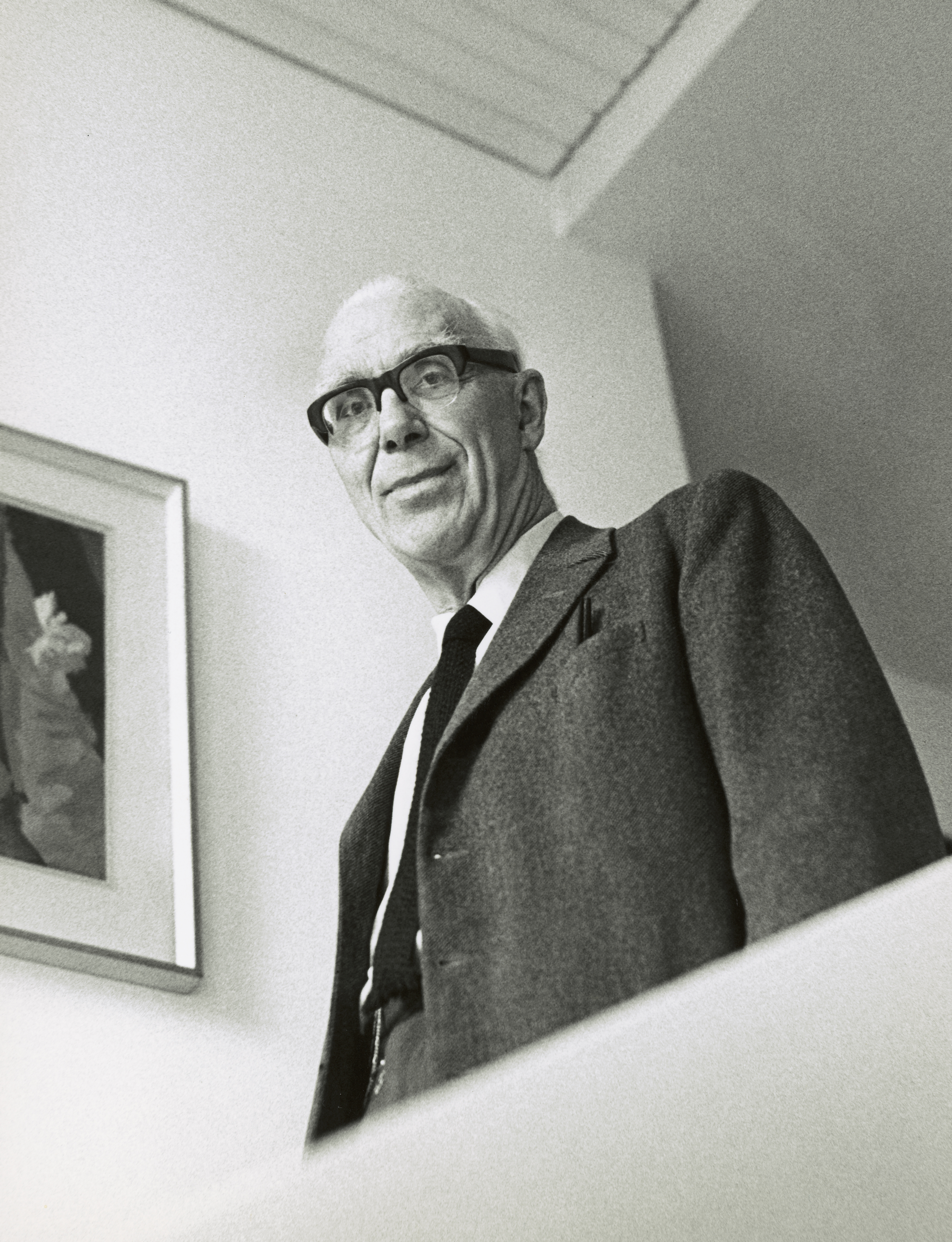Sir Ove Arup by Godfrey Argent 1969 © National Portrait Gallery London