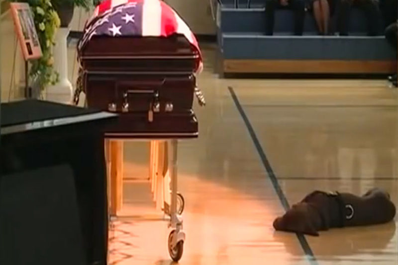 dog funeral