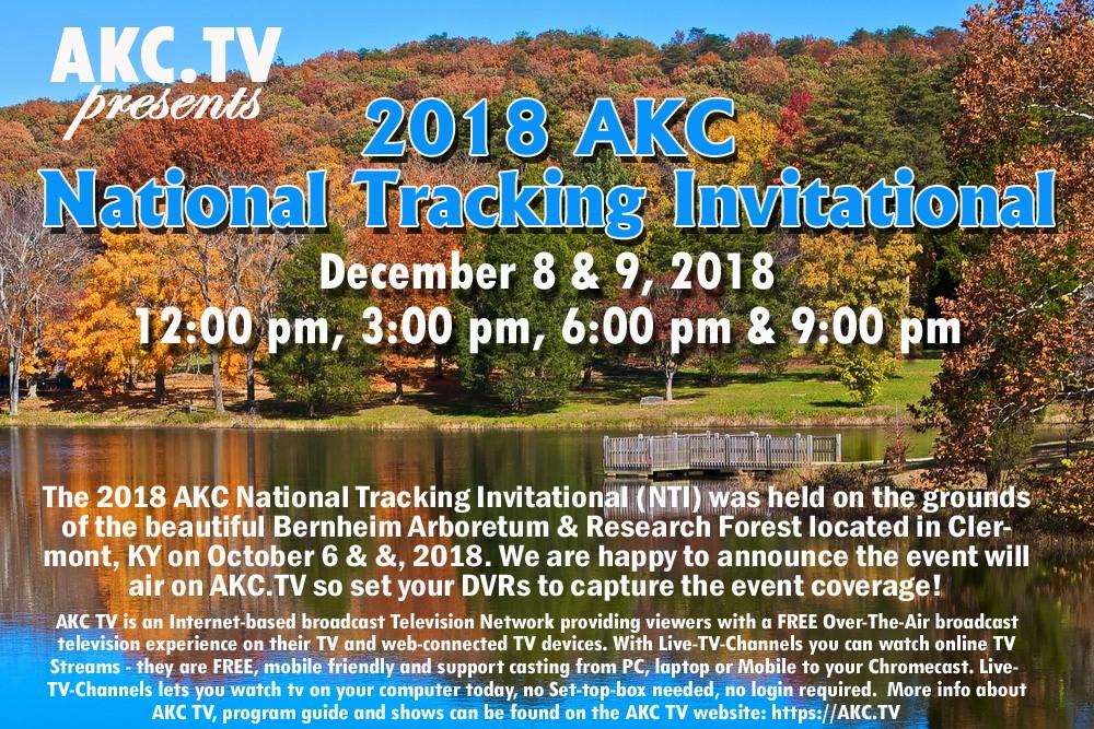 Akc National Tracking Invitational American Kennel Club