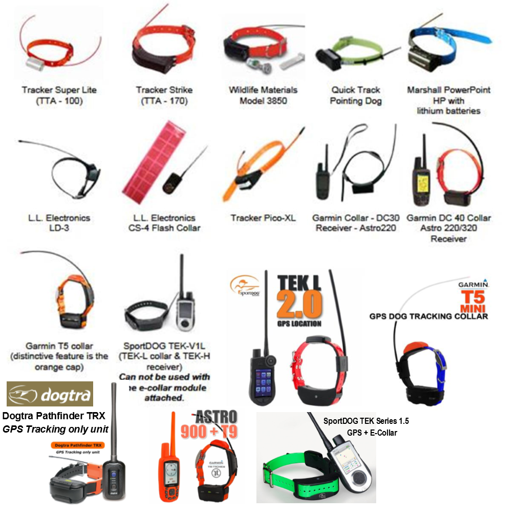 Approved Tracking Collars