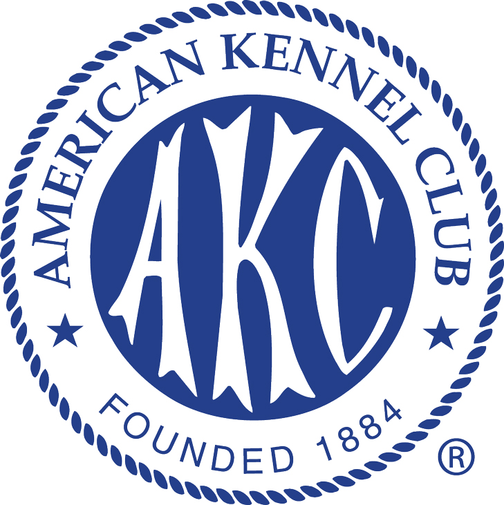 AKC Ribbon Logo Square