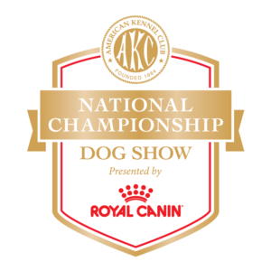 AKC National Championship presented by Royal Canin logo