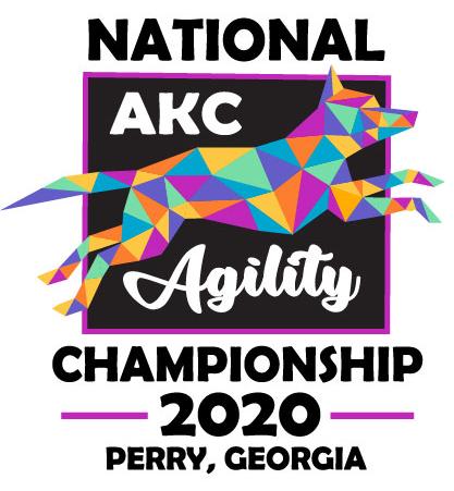 AKC National Agility Championship 2020 Perry Georgia Logo