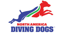 North America Diving Dogs Logo