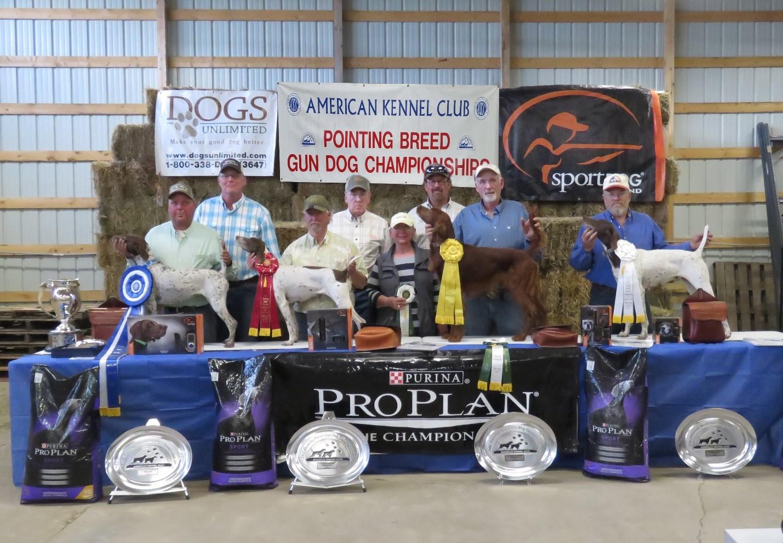 2019 AKC GD Championship HB Winners