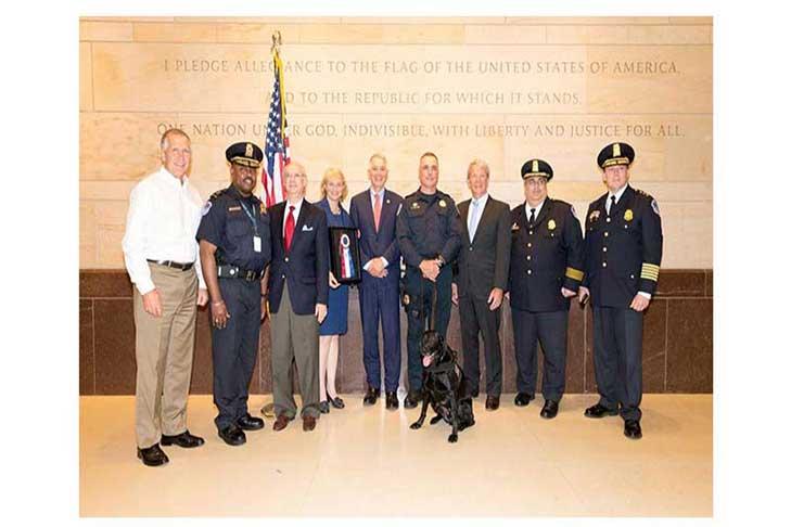 Officers Capitol Police K9 Unit Award