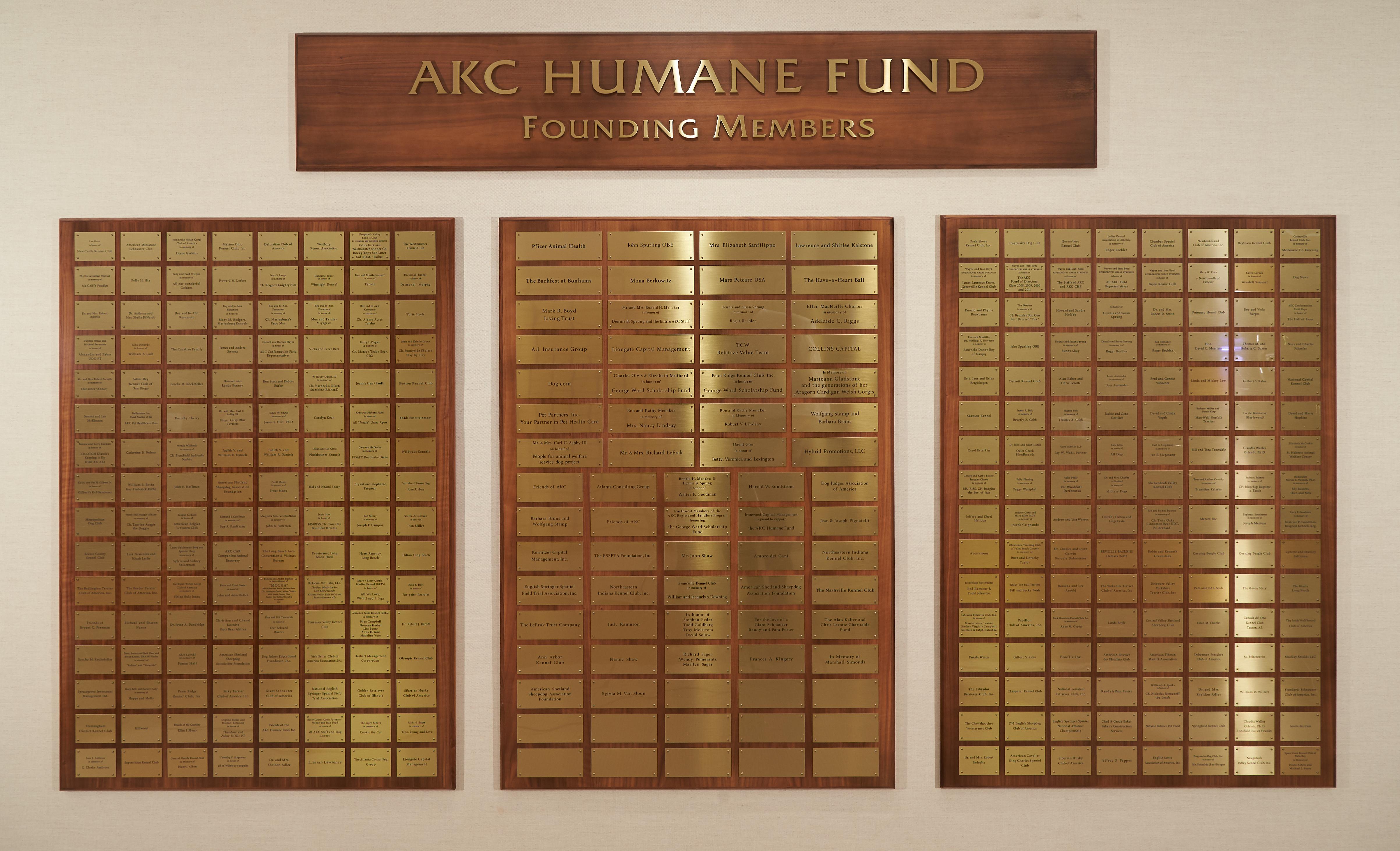 akc humane fund