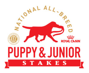 AKC/Royal Canin National All-Breed Puppy and Junior Stakes logo