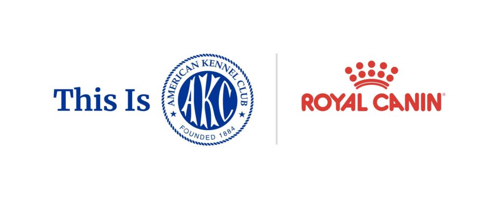 This is AKC / Royal Canin logo