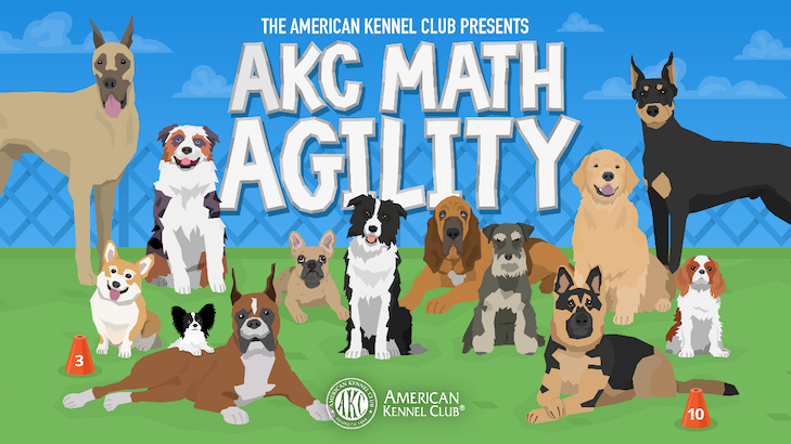 AKC Introduces Math Agility App For Kids – American Kennel Club