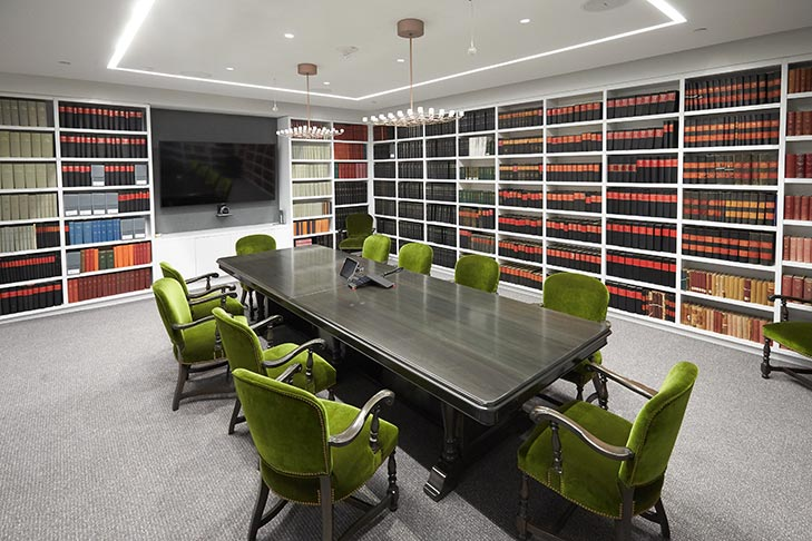 AKC Library at the headquarters in New York City.