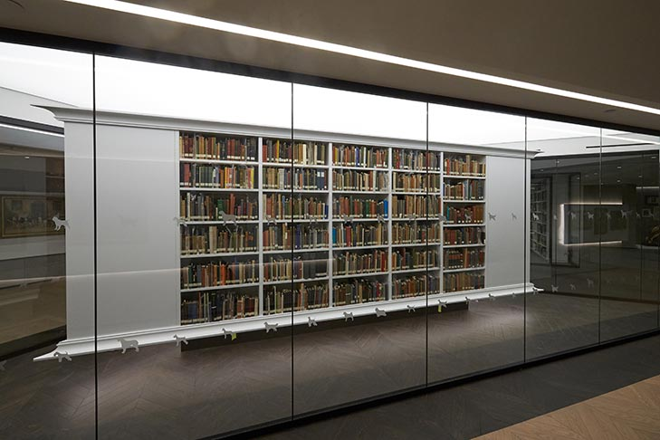 Rare Books Library at the AKC headquarters.