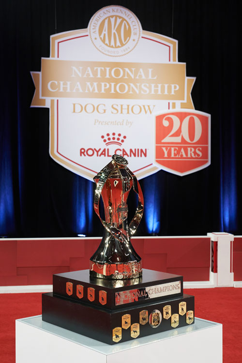 Crowning Champions Trophy - 2020 AKC National Championship presented by Royal Canin, Orlando FL.