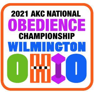2021 AKC National Obedience Championship logo