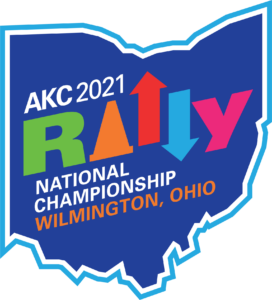 2021 AKC Rally National Championship logo