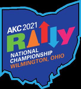2021 AKC Rally National Championship logo