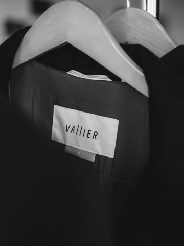 Vallier apparel was lined up and ready to go.