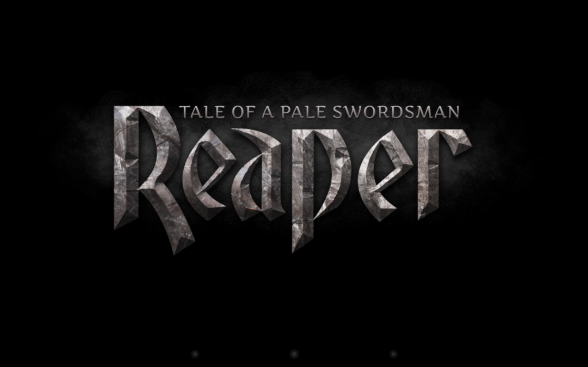 Reaper – Tale of a Pale Swordsman Lands on Steam