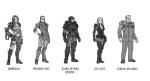 Bombshell Character Concept Art