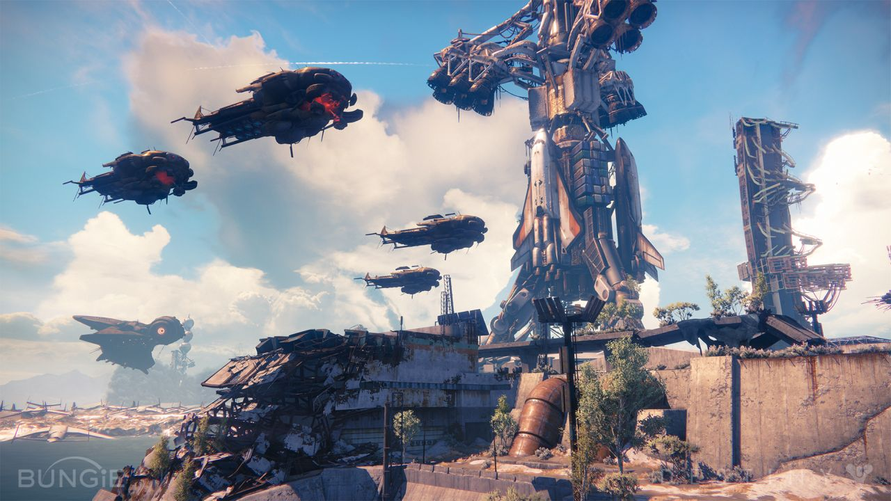 Destiny-Dropships