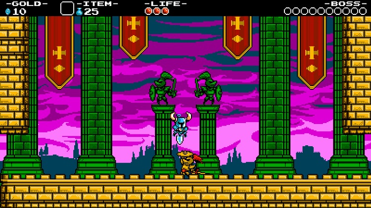 Shovel Knight digs up some side-scroller nostalgia