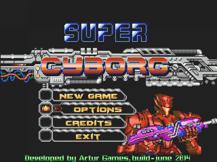 Super Cyborg Is Contra For A New Age