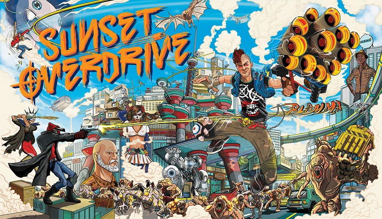 'Sunset Overdrive' Oozes Style And Comedy, But Lacks Much Combat Variety