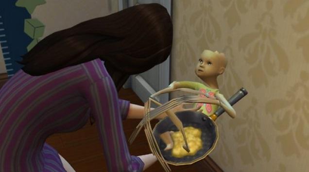 Sims 4 Crazy Baby Glitch