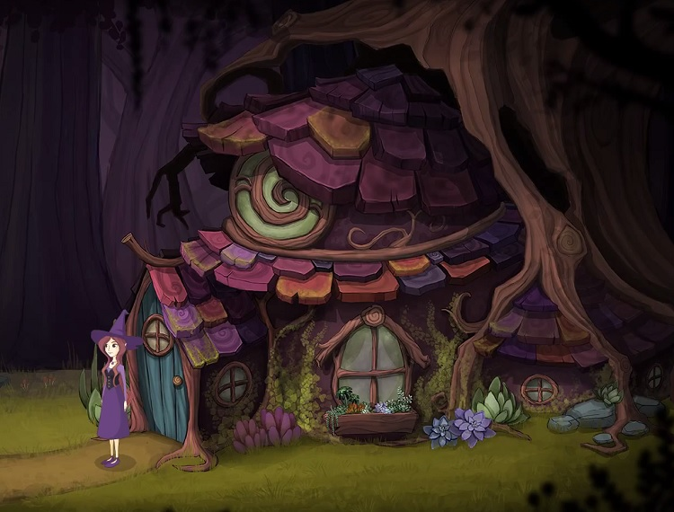 Solve clever puzzles and master whimsical spells in 'Magic Lost'