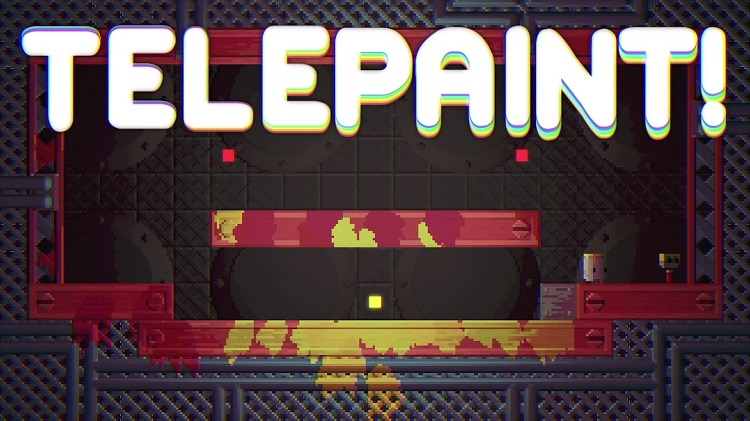 Help bumbling buckets reach their paintbrush pals in 'Telepaint'