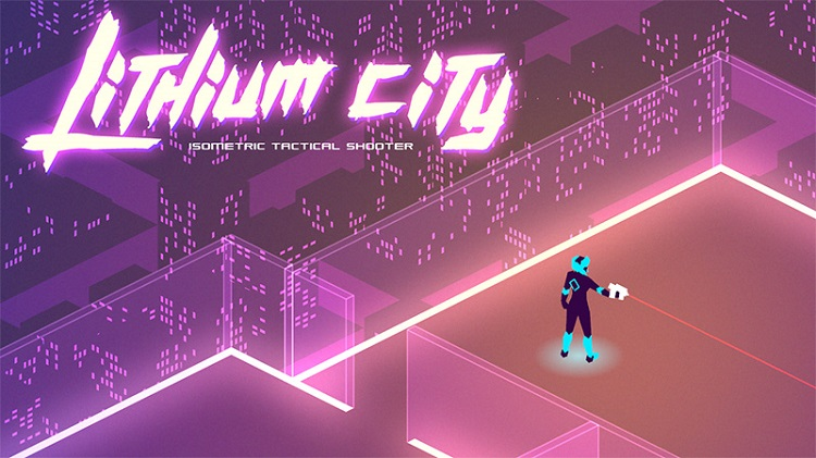 Slay battle droids and wield powerful weapons through the neon skyscrapers of 'Lithium City'